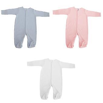 Long Sleeve Unisex Baby Sleepsuit