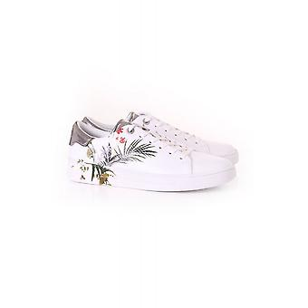 Ted Baker Womens Penil Highland Embossed Croc Effect Trainer