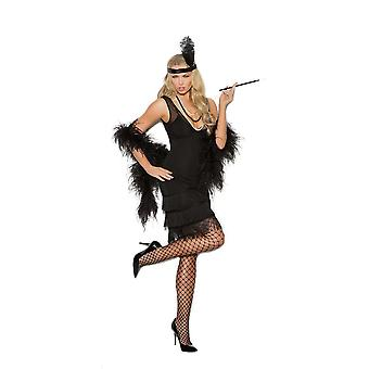 Elegant Moments Womens Classic 1920's Gatsby Flapper Halloween Costume