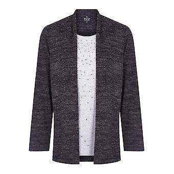 TIGI Cardigan med Diamantes