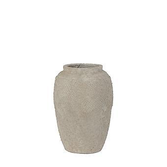 Light & Living Pot Deco 23x33cm Vertas Ceramics Cement