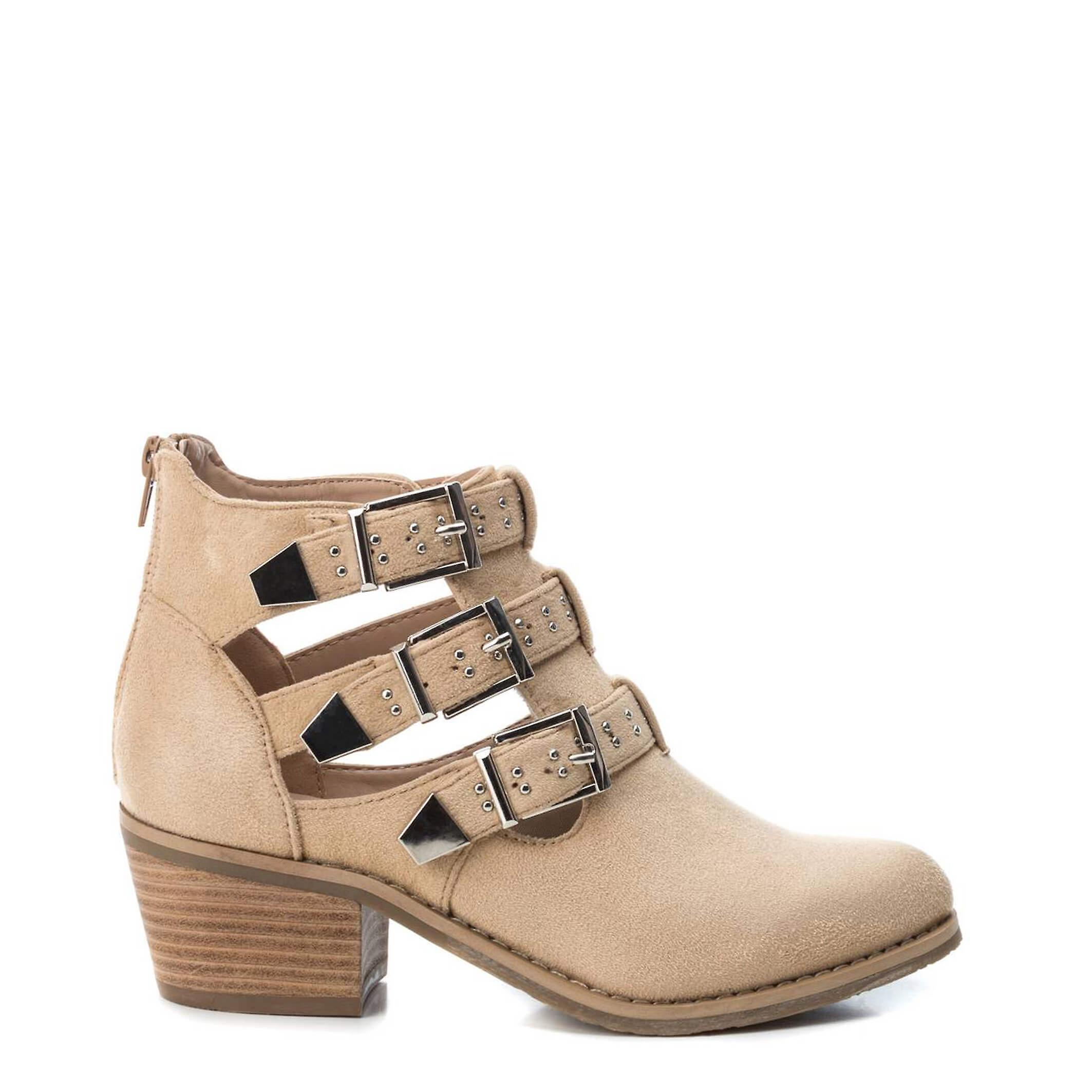 Xti Original Women Spring/Summer Ankle Boot - Brown Color 40192 JXAxU