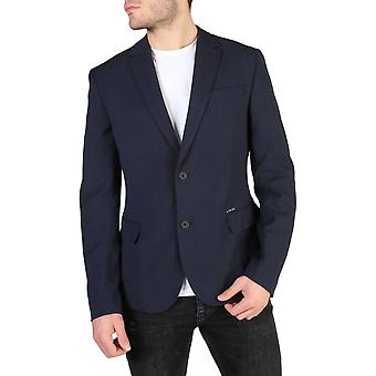 Guess Original Men Fall/Winter Formal Jacket - Blue Color 38114
