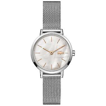 Lacoste Women's Moon | Stainless Steel Mesh | Mother Of Pearl Dial 2001121 Watch
