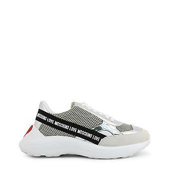 Kærlighed Moschino Original Kvinder Forår / Sommer Sneakers Hvid Farve - 72502