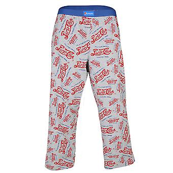 Offizielle Pepsi Cola 7Up Soft Drink Herren Lounge Hose Pyjama Böden