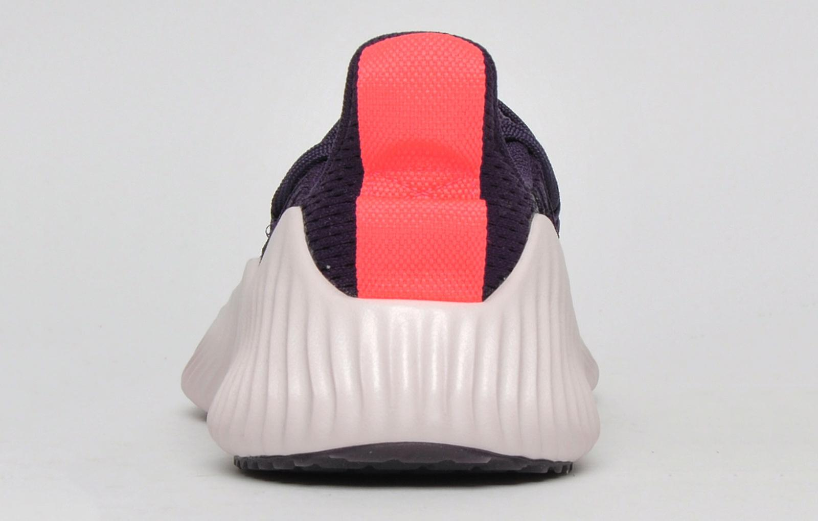Adidas Alpha Bounce Trainer Purple / White