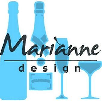 Marianne Design Creatables Taglio Fosini - Champagne LR0504