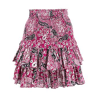 Isabel Marant ÉToile Ju075320p076eecpk Women's Fuchsia Cotton Skirt