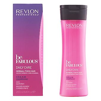 Pflegende Conditioner Be Fabulous Revlon (250 ml) Normales Haar