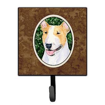 Carolines Treasures  SS8873SH4 Bull Terrier Leash Holder or Key Hook
