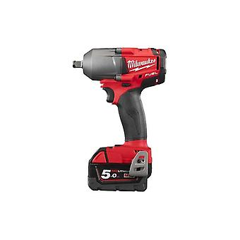 Milwaukee M18FMTIWF12-502X M18 Fuel Impact Wrench with Friction Ring