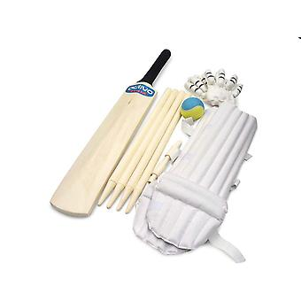 Activo Junior Kinder Cricket Bat Handschuh Stump Ball Set - Größe 3