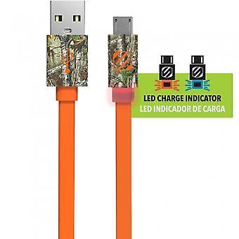 SCOSCHE FLATOUT LED MICRO USB 36