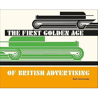 The First Golden Age of British Advertising - 9780993587863 Book