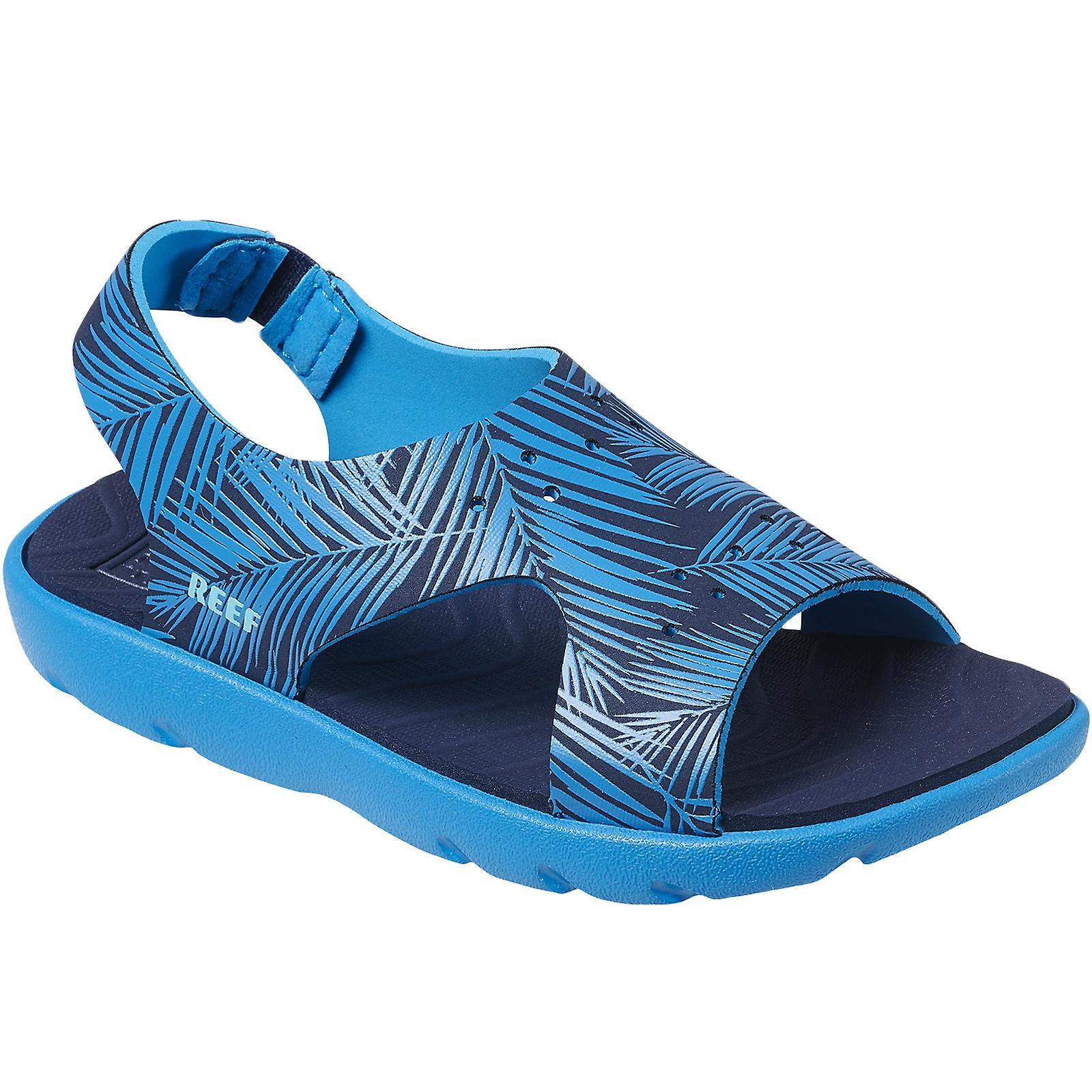 Reef Little Beachy Kids Boys Summer Beach Holiday Pool Flip Flops Sandals - Navy