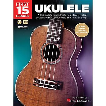 Ukulele  A Beginners Guide Featuring StepbyStep Lessons with Audio Video and Popular Songs by Michael Ezra