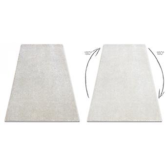 Rug wall-to-wall SAN MIGUEL cream 031 plain, flat, one colour