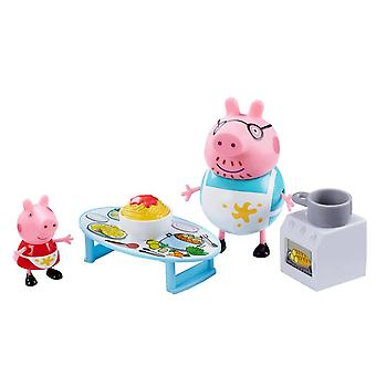 Peppa Pig, Playset - Peppas Messy Kitchen