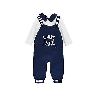 Brums Milano 2 Pezzo Set Blue Dungarees