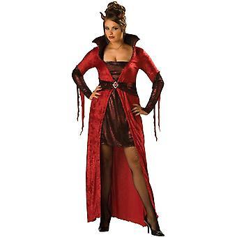 Seductive Devil Adult Plus Size Costume