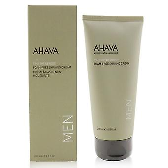 Ahava Time To Foam-Free Rasierschaum 200ml/6.8oz Energize