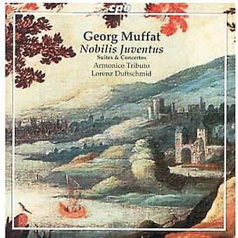G. Muffat - Georg Muffat: Nobilis Juventus [CD] USA import