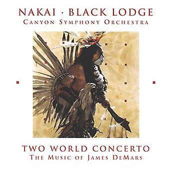 Nakai/Demars - deux monde Concerto-la musique de James Demars [CD] USA import