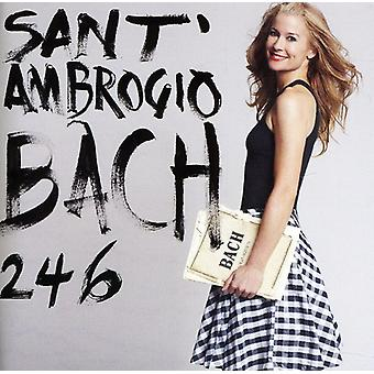 サラ サンタンブロージョ - バッハ 2 4 6 [CD] 米国のインポートします。