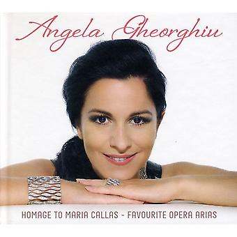 Angela Gheorghiu - Homage to Maria Callas [Deluxe Edition] [CD] USA import