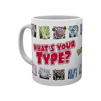Pokémon, Mugg - Whats Your Type