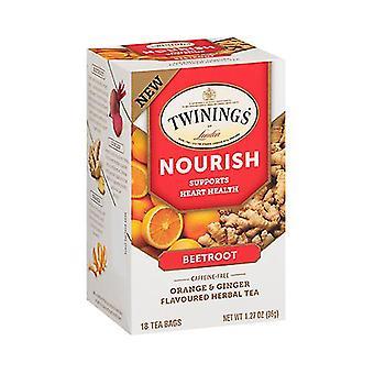 Třpytiš krmná Beetroot oranžová & zázvorový bylinkový čaj
