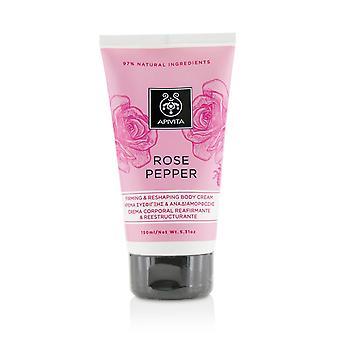 Rose pepper firming & reshaping body cream 213922 150ml/5.31oz