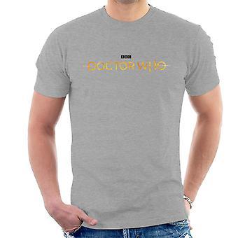 Camiseta doctor Who héroe insignia de los hombres