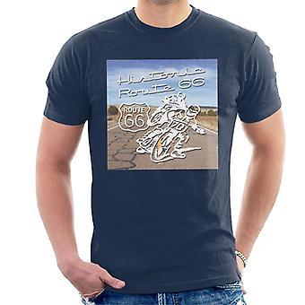 Route 66 Historic Motorcycles Men's T-Shirt