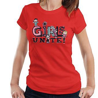 Peanuts Mädchen Vereinen Marcie Frauen's T-Shirt