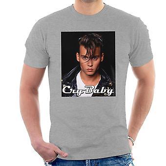 Cry Baby Logo Portrait Men's T-Shirt