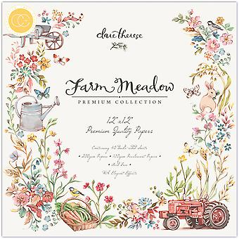 Craft Consortium Farm Meadow 12x12 Inch Paper Pad