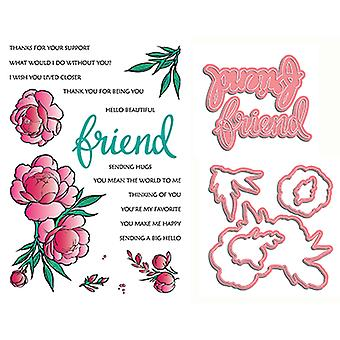 LDRS Creative If Friends Were Flowers Timbre & Die Set