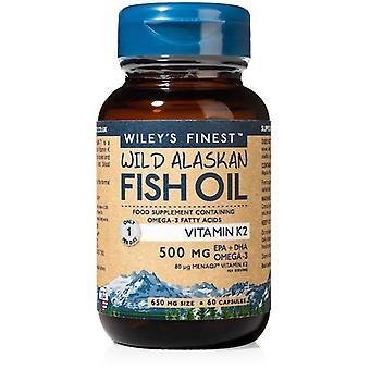 Wiley's Finest Vitamin K2 Capsules 60