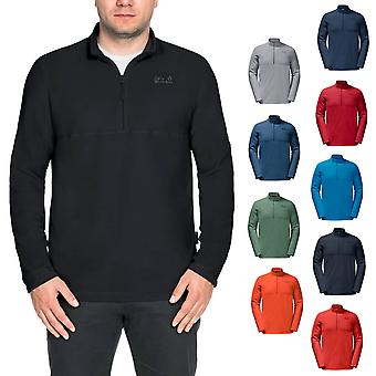 Jack Wolfskin Herren 2020 Gecko 1/2 Zip Fleece Pullover Thermal Aktive Midlayer