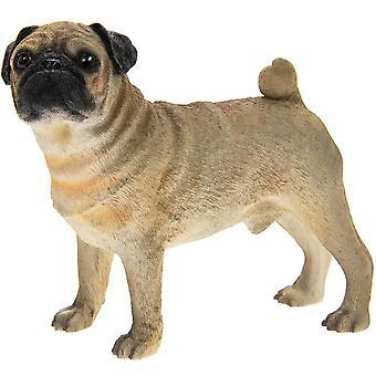 Standing Pug Dog Figurine Ornament