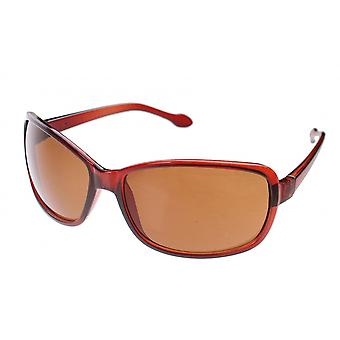 Sunglasses Unisex brown with brown lens (A20087)