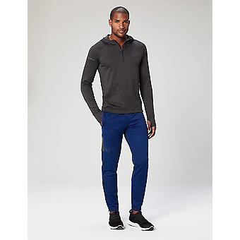 Peak Velocity Men's Trackster Athletic-Fit Pant, Victory Blue/Asphalt Grey, L...