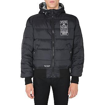 Alpha Industries 198117432 Men's Black Nylon Outerwear Jacket