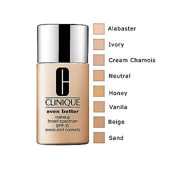 Clinique aún mejor maquillaje uniforme y corrige 1oz/30ml nuevo en caja