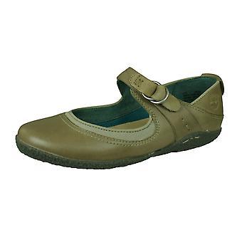 Тимберленд Бейден МДж женщин Кожа Мэри Джейн Балерина обувь - серый