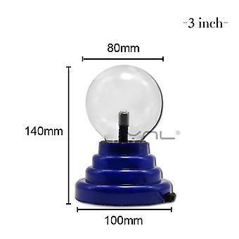 Novelty Magic Crystal Plasma Ball Touch Lamp 220v Led Night Light