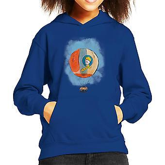 The Little Prince Hot Air Balloon Kid's Hooded Sweatshirt