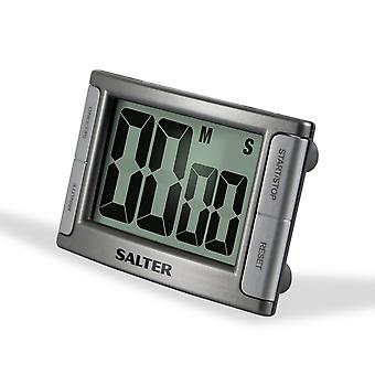 Salter Contour Digital Kitchen Timer Silver